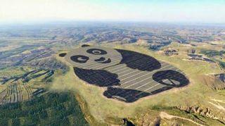 ferme-solaire-de-250-hectares-en-forme-de-panda-geant