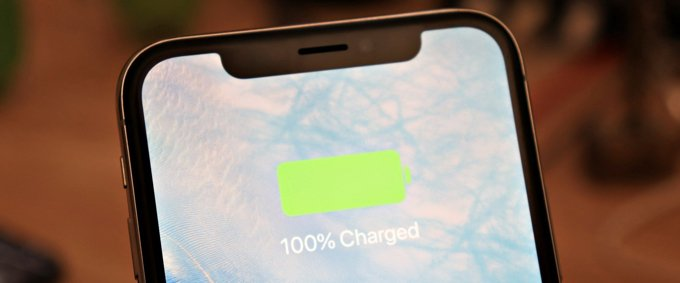 iphone batterie 100 pourcent charge